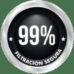 99% de filtración de contaminantes