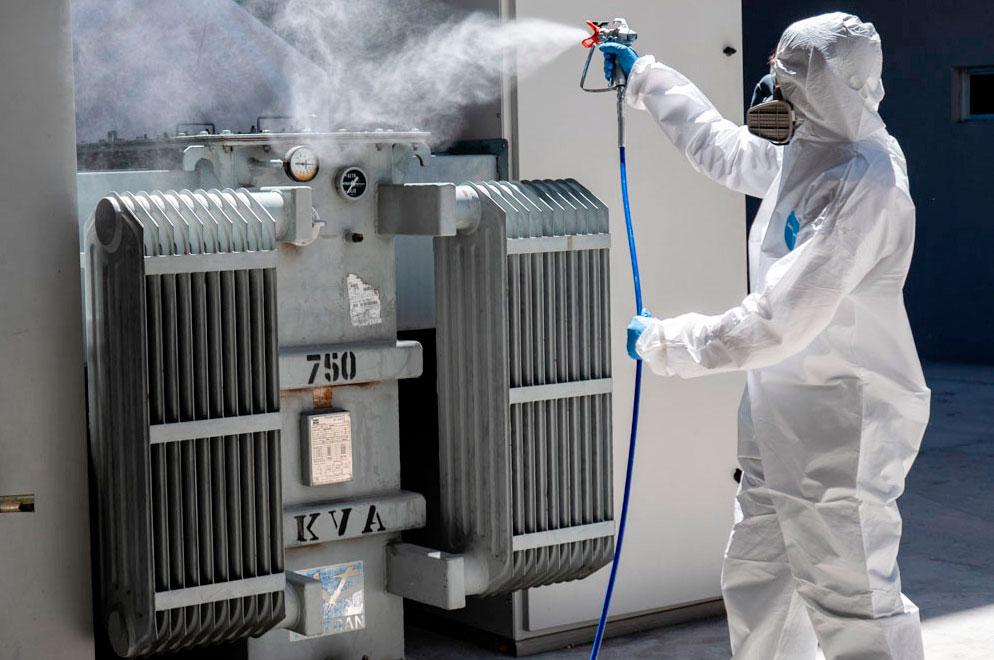 contaminación industrial y covid