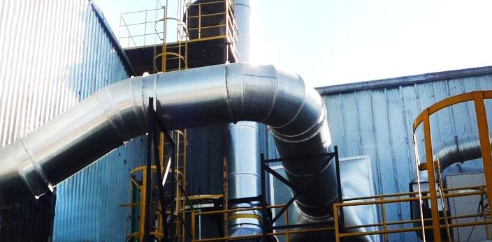 sistema extractor de neblina para industria metalmecánica