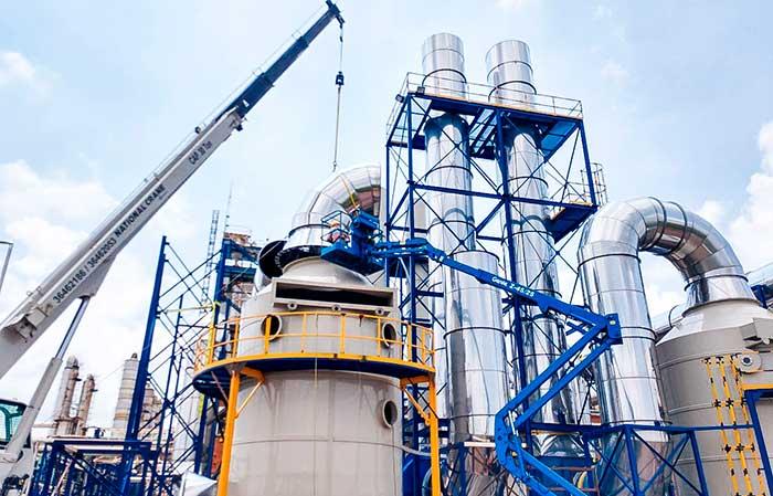 Control de emisiones industriales