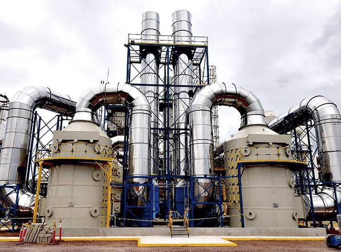 Cliente de MCAT para el control de emisiones contaminantes